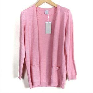 ICHI Marat Open Front Long Cardigan Sweater